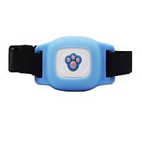 GPS трекер для собак FUTUREWAY FP03 Влагостойкий GPS ошейник для собак Синий (0474)