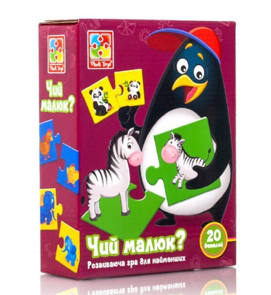 Гра Чий малюк? Vladi Toys VT1804-26