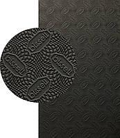 BISSELL, БИЗЕЛ, art.072-small, р. 380*570*2 мм, цв. чёрный - резина подметочная/профилактика листовая