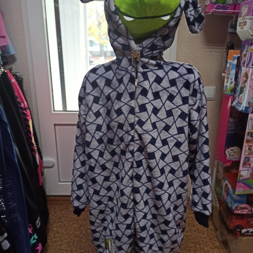 Пижама- кигуруми для детей теплая и красивая.