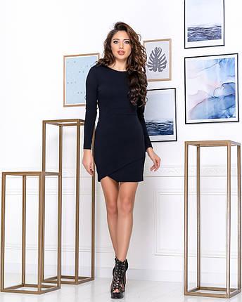Приталенное женское платье выше колена Футляр, фото 2