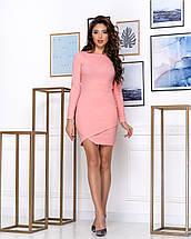 Приталенное женское платье выше колена Футляр, фото 3