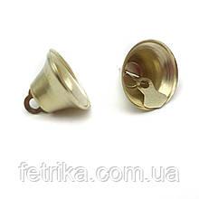 Колокольчики золото 2,1*1,9 см