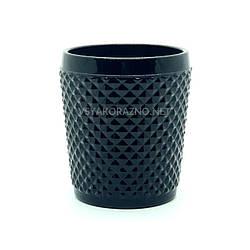 Стакан стеклянный для напитков 250 мл, черный