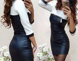 Короткое женское платье  мини, фото 3