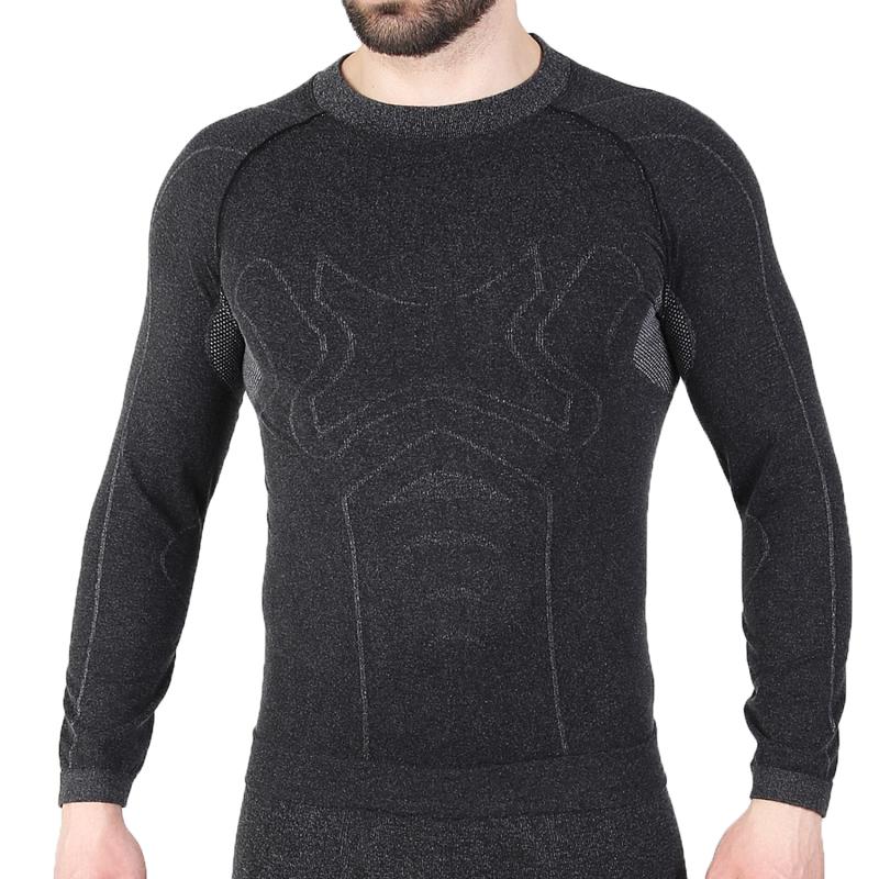 Мужская термокофта с шерстью альпаки HASTER ALPACA WOOL S/M Черный