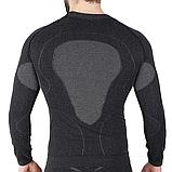 Мужская термокофта с шерстью альпаки HASTER ALPACA WOOL S/M Черный, фото 2