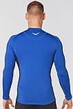 Спортивний лонгслив Rough Radical Fury Duo LS синій з темно-синіми вставками, фото 3