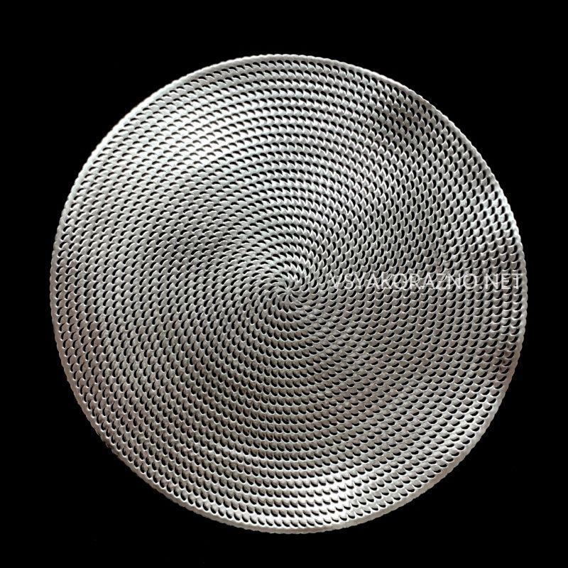 Сервировочный коврик  40см, Серебристый
