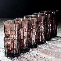 "Набор стаканов ""Даллас"" Лилак 380 мл, Luminarc 6 шт."