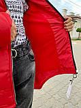 Дитяча подовжена куртка Євро зима! ! Р. 134-152. Нова!, фото 2