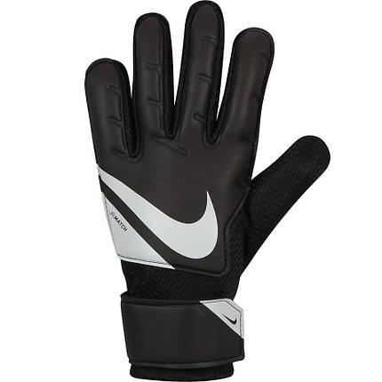 Перчатки вратарские детские Nike Goalkeeper Match Junior CQ7795-010 Черный, фото 2