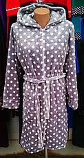Женский махровий халат, фото 2