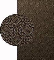 BISSELL, БИЗЕЛ, art.072, р. 760*570*2 мм, цв. коричневый - резина подметочная/профилактика листовая