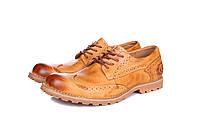Ботинки мужские Timberland  Earthkeepers Oxford (тимберленд) коричневые
