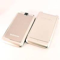 Корпус для Samsung S3600, High Copy, AAA class, Серебристый /панель/крышка/накладка /самсунг