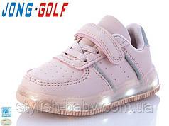 Дитяче взуття оптом. Дитяча спортивна взуття 2021 бренду Jong Golf для дівчаток (рр. з 21 по 26)
