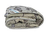 Ковдра Аляска шерсть, Бавовна Leleka-Textile 200х220 Р238 Зима, фото 3