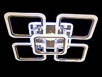 LED-люстра блютус колонкой и цветной подсветкой цвет золото 125W Diasha&A8060/4+1G MP3 LED 3color dimmer