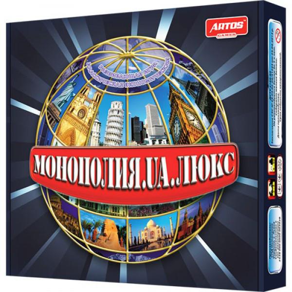 Настольная игра Монополия Люкс