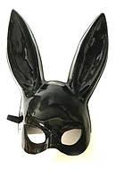 Маска кролика PlayBoy, черная