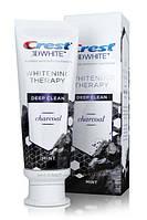 Отбеливающая угольная зубная паста Crest 3D white Whitening Toothpaste charcoal 116г