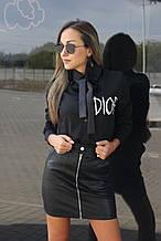 Женская рубашка, красивая рубашка, классическая рубашка Чёрный, 42-44, 46-48