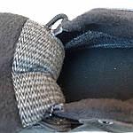 Чоловічі зимові кросівки Adidas Terrex (чорно-сірі) Термо 3515, фото 3