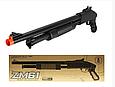 Игрушечная помповая, металлическая винтовка автомат для ребенка CYMA ZM61 на пульках, фото 2