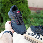 Мужские зимние кроссовки Adidas Terrex (черно-красные) Термо 3514, фото 3