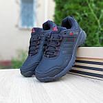 Мужские зимние кроссовки Adidas Terrex (черно-красные) Термо 3514, фото 6
