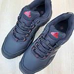 Мужские зимние кроссовки Adidas Terrex (черно-красные) Термо 3514, фото 9