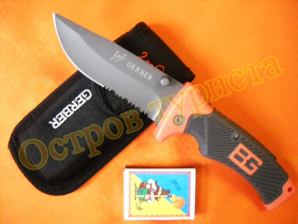 Ніж складаний Gerber Folding Sheath Knife PS