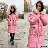 Куртка зимняя с натуральной опушкой VS2471