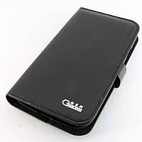 Чехол-книжка для Samsung Galaxy Grand i9082, i9080, кожаный, боковой, Gelaisi, Черный /flip case/флип кейс /самсунг галакси