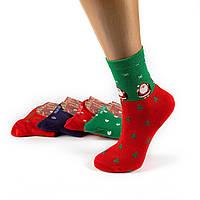 Новогодние женские носки Aura Via