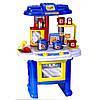 Кухня детская с посудой и плитой 08912