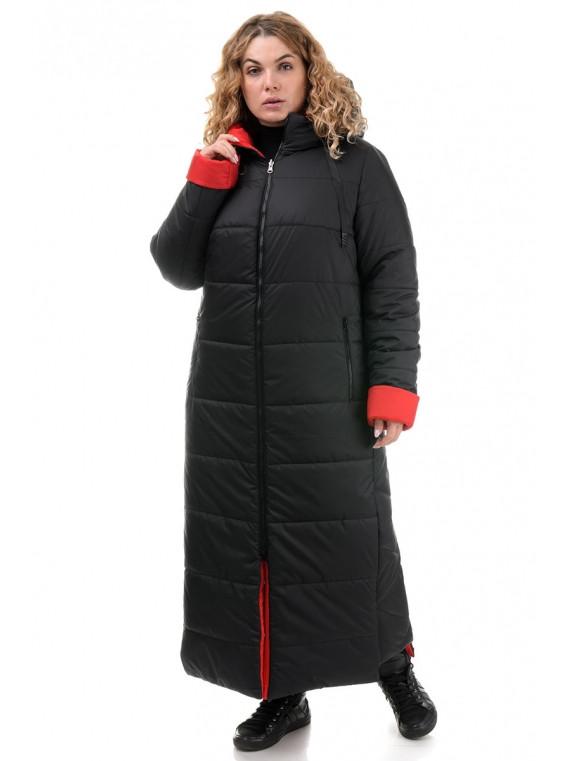 БАТАЛЬНОЕ двухстороннее пальто 50,52,54,56 размер Хаки/Желтый