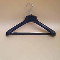 Вішак-плечики для верхнього одягу з планкою та протиковзаючою поролоновою губкою