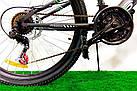 """Горный велосипед 29"""" Azimut Energy D черно-красный, фото 3"""