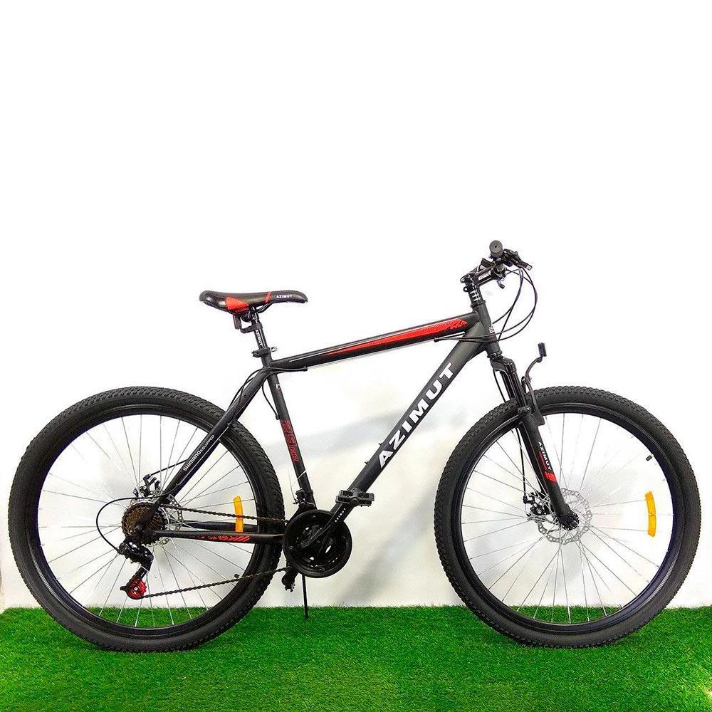 """Горный велосипед 29"""" Azimut Energy D черно-красный"""