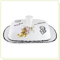 Масленка керамическая Незабудка MAESTRO MR20049-45