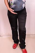Спортивные брюки для беременных утепленные на флисе, размеры 46-54