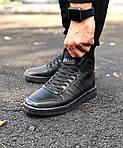 Чоловічі кросівки Adidas Black (чорні) 560TP, фото 2
