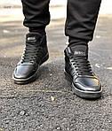 Чоловічі кросівки Adidas Black (чорні) 560TP, фото 3