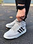 Чоловічі кросівки Adidas Gray (сірі) 559TP, фото 6