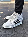 Чоловічі кросівки Adidas Gray (сірі) 559TP, фото 3