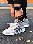 Чоловічі кросівки Adidas Gray (сірі) 559TP, фото 5