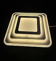 Светодиодный потолочный светильник квадрат 35 ватт 30см, фото 1