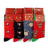 Новогодний набор мужских носков 5 пар, фото 2